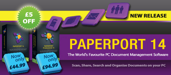 Save £5 On PaperPort Standard 14