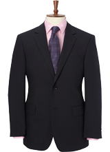 Navy Travel Suit Jacket