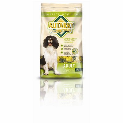 Autarky adult dog food summer 15kg - chicken dinner