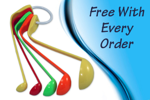 Get a free set of measuring spoons