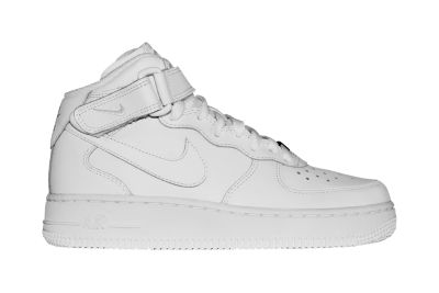 Nike Air Force 1 Mid Boys Shoe