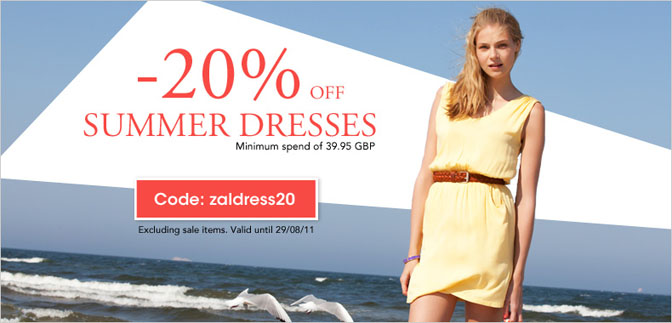 Get 20% off all Summer Dresses