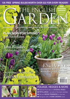 £10 off for a subscription to The English Garden magazine