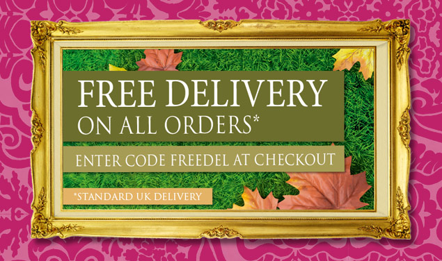 Free delivery on your online purchase