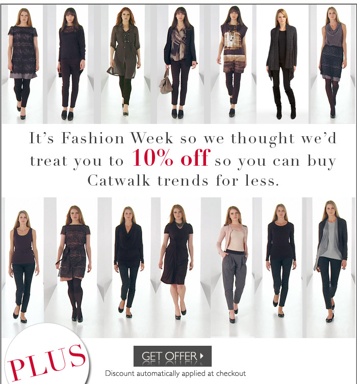 10% off for Fashion week