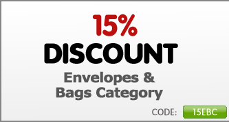15% Off Envelopes & Bags