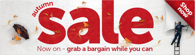 Autumn Sale Up to 50% OFF