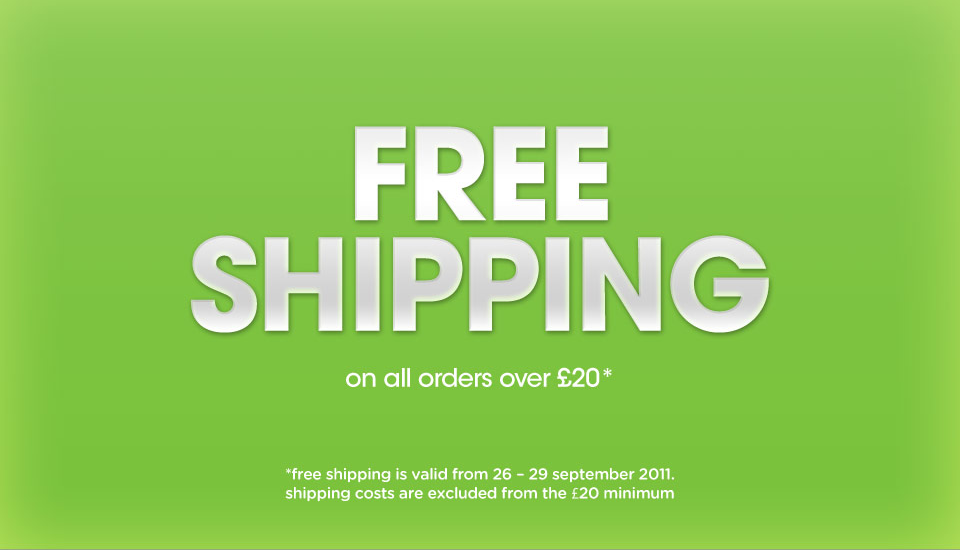 Get free delivery on online orders