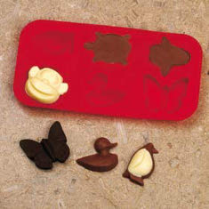 Get Free Animal Silicone Chocolate Moulds