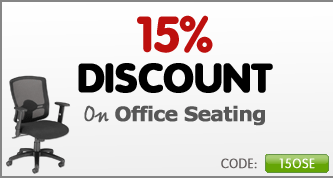Get 15% off all office seating