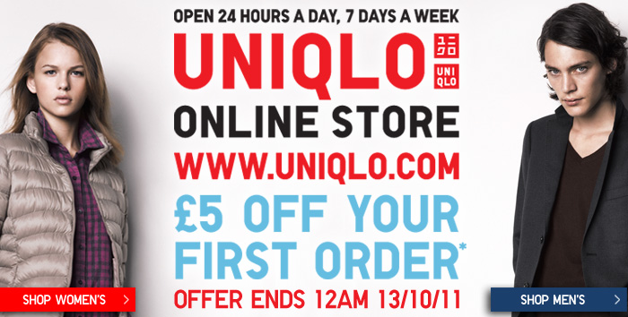 £5 off your next order
