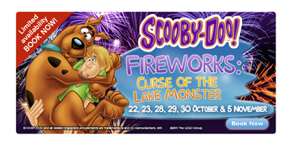 10% Off Scooby-Doo Fireworks