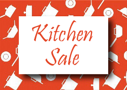 Save up to 72% in our Kitchen Sale