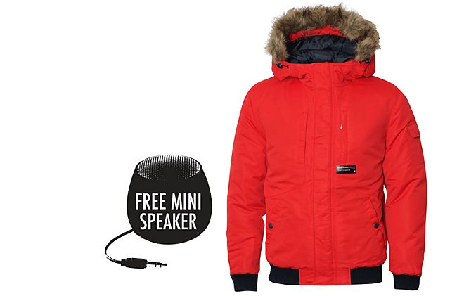 Free speaker worth £29.95