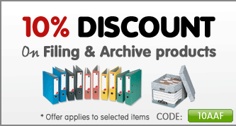 10% Off Filing & Archive Category