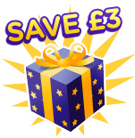 £3 off when you spend £30 or more