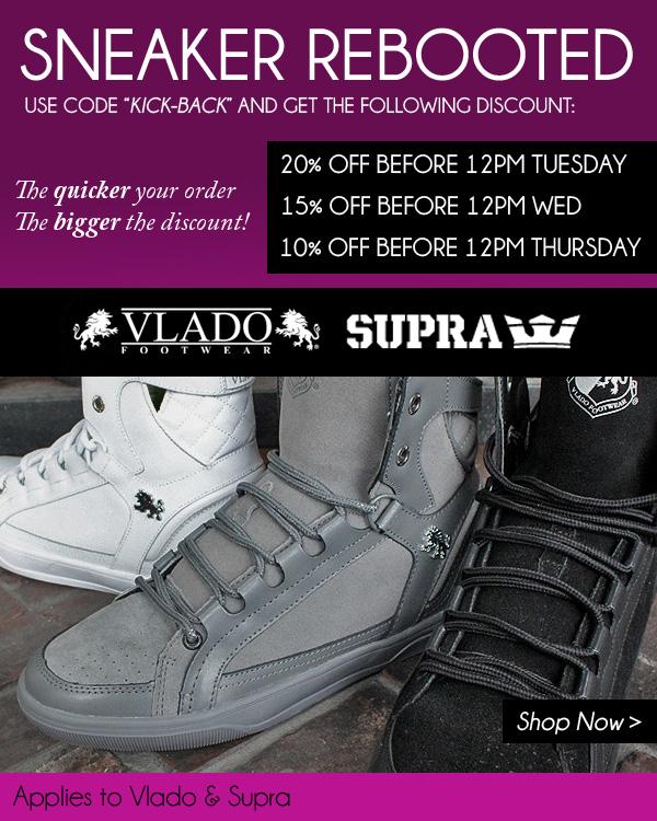 20% off footwear orders