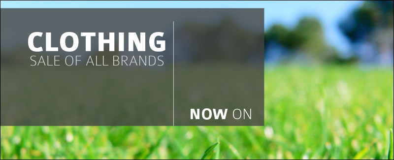 Up to 50% on golf clothing