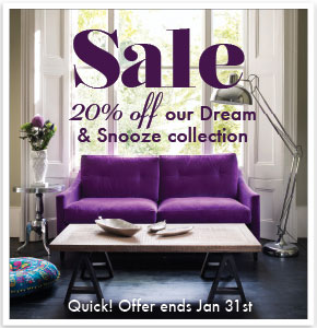 20% off Dream and Snooze collection