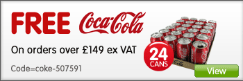 Get free Coca Cola 24x330ml cans