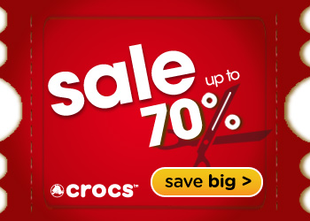 70% off a wide range of styles