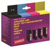 50% off Staples Multipack Inkjet Cartridge