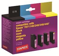 50% off Staples Multipack Inkjet Cartridge