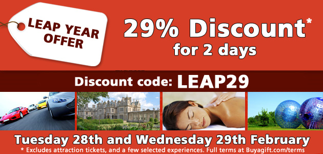 29% discount off all products