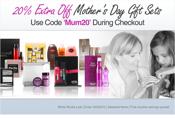 20% Off Mother's Day Gift Sets