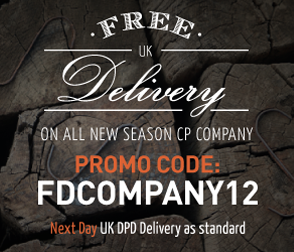 Free delivery on CP Company