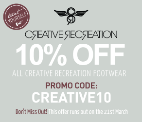 10% off Creative Recreation items