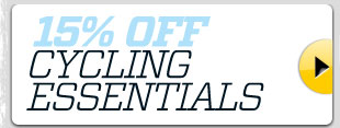 15% off cycling essentials