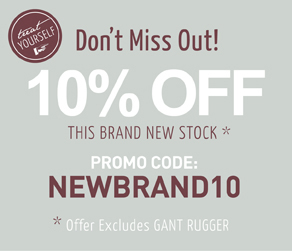 10% off this new stock