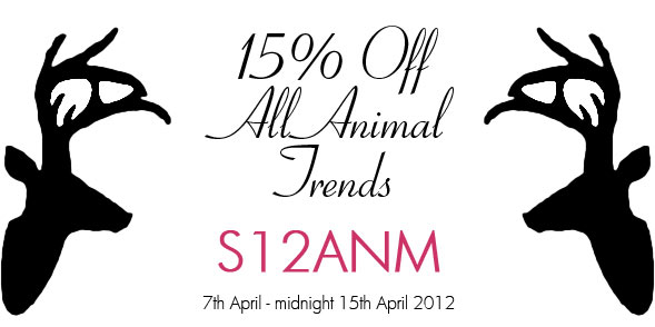 15% off everything animal related