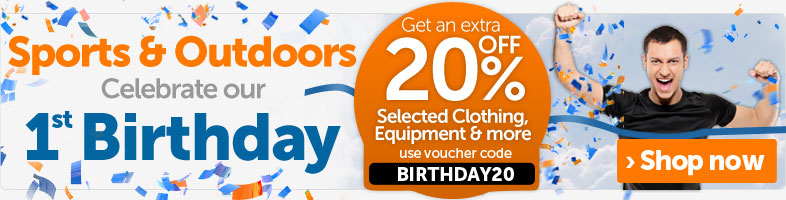 20% off Sports & Outdoor