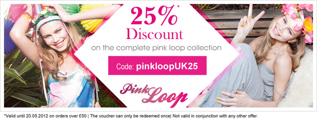 25% off the Pink Loop collection