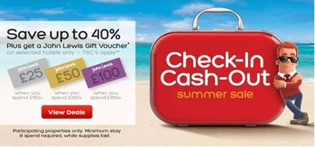 Save up to 40% on your Summer holiday