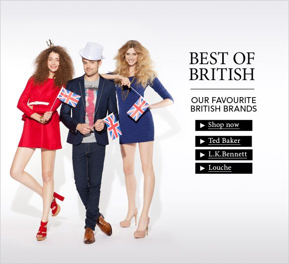 30% off some of Britain's best fashion brands