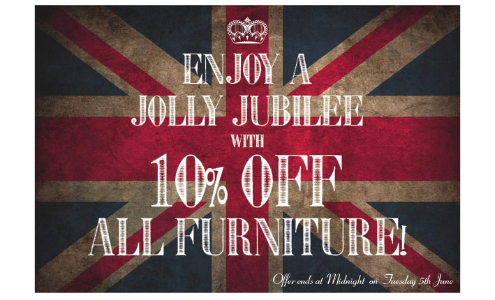 10% off all furniture