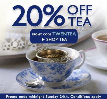 20% OFF ALL TEA