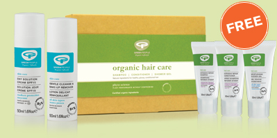 FREE Hydrate Hair & Body Kit worth £11.95 when you buy 50ml Day Solution SPF15 and 50ml Gentle Cleanse