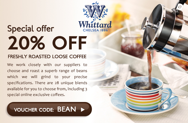 20% OFF ALL LOOSE COFFEE