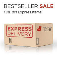 15% off and express delivery on some of the bestselling items