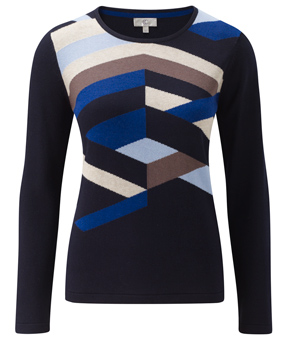 Multilines Colourblock Jumper