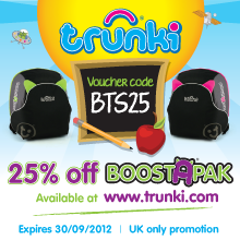 25% off BoostApak plus free delivery