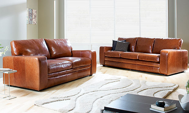 10% Off Sloane Leather Sofa