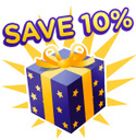 10% off when you spend £30 or more