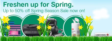 Up to 50% off in the Spring Sale!