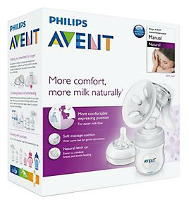 Save 50% on Philips AVENT Natural Breast Pump Manual