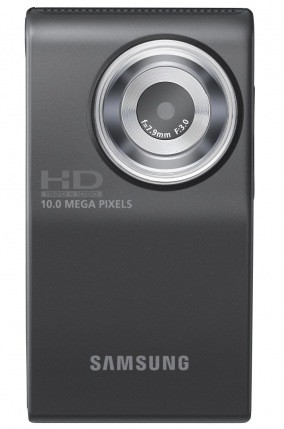 Save £103.82 on Samsung HMX-U10 HD Camcorder